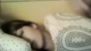 Giving messy facial to my sleeping girlfriend in bed--_short_preview.mp4