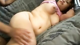Beautiful amateur BBW pregnant lady rides cock on the sofa--_short_preview.mp4