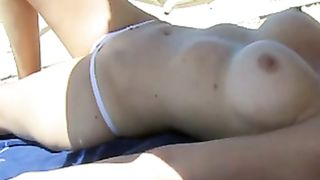 Topless girl demonstrates her stunning big tits--_short_preview.mp4