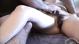 Hairy man caresses his skinny wife--_short_preview.mp4