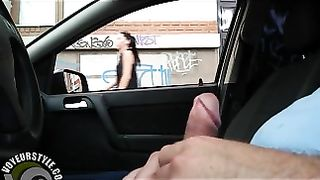 Car stroking compilation with ladies seeing his dick--_short_preview.mp4