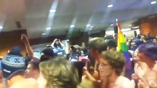 Nude gay parade inside the university building--_short_preview.mp4