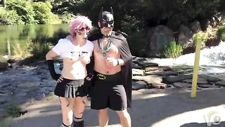 Halloween girl shows her tits in public--_short_preview.mp4