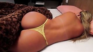 Fine ass on a hot blonde sleeping in panties--_short_preview.mp4