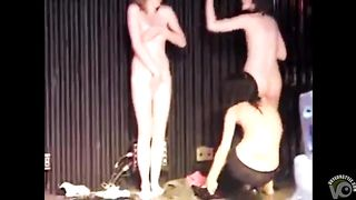Amateurs on stage strip for the audience--_short_preview.mp4