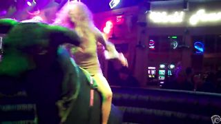 Riding the mechanical bull uncovers blonde's sexy ass--_short_preview.mp4