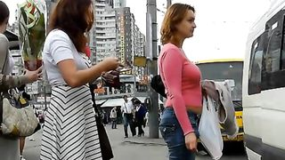 Pantyhose upskirt at a food truck on the street--_short_preview.mp4