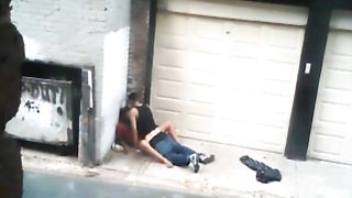 Nasty hooker pleasures her client in an alley--_short_preview.mp4