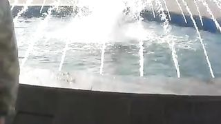 Hottest coed girl takes a bath in a fountain--_short_preview.mp4