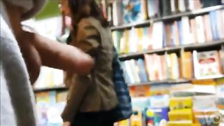 Stroking pecker to girls in the public store--_short_preview.mp4