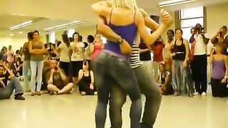 Modern dance demonstration for the class--_short_preview.mp4
