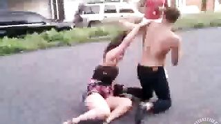 Real female fight with a couple of crazy chicks--_short_preview.mp4