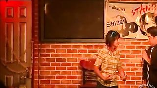 Amateur shows her shaved pussy to a comedian--_short_preview.mp4