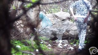 Ukrainian amateur filmed urinating in the trees--_short_preview.mp4