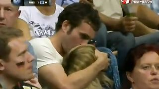 Basketball fan gives a public blowjob at sporting event--_short_preview.mp4