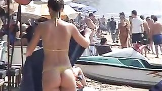 Smoking hot lookers enjoys having some fun at the beach--_short_preview.mp4
