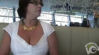 My wife flashes her breasts and pussy at a restaurant--_short_preview.mp4