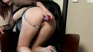 Her large and thick dildo penetrating her tight and wet pussy--_short_preview.mp4