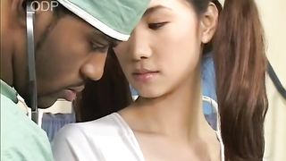 Black horny doctor eats and fingers sweet Asian pussy--_short_preview.mp4