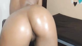 Black Chick Tries to Fist Herself on Cam then Sucks White Boy Cock--_short_preview.mp4