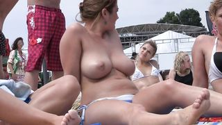 British cutie sunbathes with her natural tatas out in the open--_short_preview.mp4