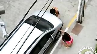 Splendid pair of Brazilian babes urinating on the street--_short_preview.mp4