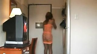Nearly naked lady takes a food delivery--_short_preview.mp4