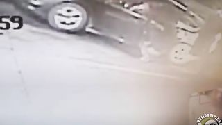 Desperate damsel urinates next to her car--_short_preview.mp4
