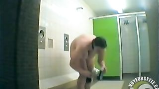 BBW takes a shower after a swim in the pool--_short_preview.mp4