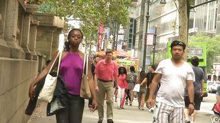 Ebony goddess walks around without any bra on--_short_preview.mp4