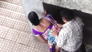 Public doggystyle quickie with an Indian girl--_short_preview.mp4