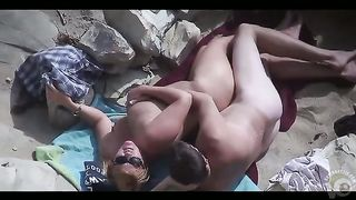 Amateur copulation on the beach of Crimea with three mature couples--_short_preview.mp4