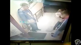 Drunken woman had quarrel with security guys--_short_preview.mp4