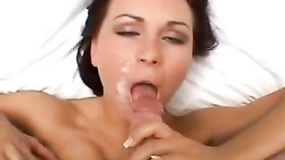 Sperm hungry nympho with small yummy tits gets a facial--_short_preview.mp4