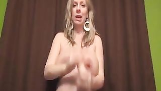 Pregnant filthy blonde bitch with huge boobies used dildo for solo--_short_preview.mp4