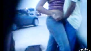 Fingering his girlfriend in a parking lot--_short_preview.mp4