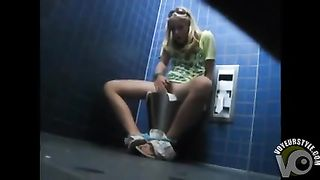 Cute kinky girl caught masturbating in the public toilet--_short_preview.mp4