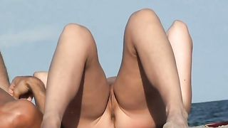 Great bodies on amateur cuties at the nude beach--_short_preview.mp4
