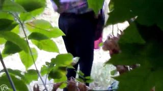 Desperate granny caught peeing in the public park--_short_preview.mp4