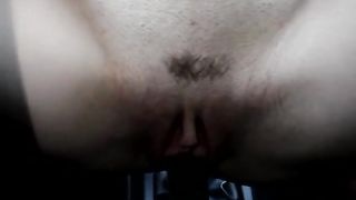 Naughty chick slowly slides her pussy on a handbrake--_short_preview.mp4