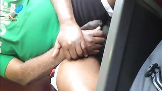 Black exhibitionist plays with his wiener--_short_preview.mp4