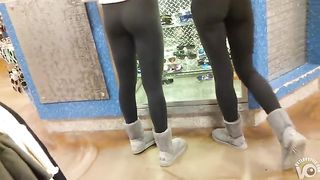 Cute boots and leggings on shopping babes--_short_preview.mp4