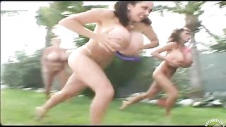 Women with huge fake boobs have a dildo race--_short_preview.mp4