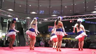 Sexy girls in short skirts dancing for the crowd--_short_preview.mp4