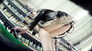 Slim stunner has her sexy purple panties caught on camera--_short_preview.mp4