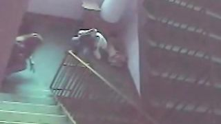College girls piss on the stairs in security cam footage--_short_preview.mp4