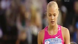 Gorgeous Russian athlete doing her long jumping--_short_preview.mp4
