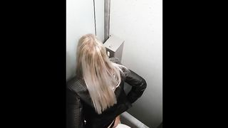 Drunk girls with nice ass cheeks caught peeing in the public WC--_short_preview.mp4