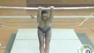 Gymnast does the uneven bars topless--_short_preview.mp4