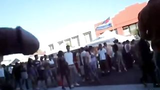 Dude has his dick out at a street parade--_short_preview.mp4